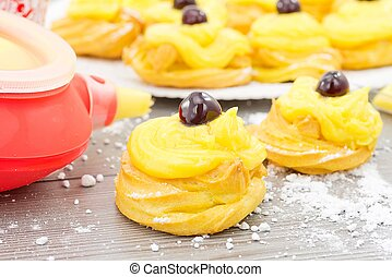 Zeppole for St. Joseph  - dessert