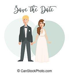 zeremonie, stallknecht, braut, wedding, braut kleid