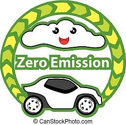 zero, emissão