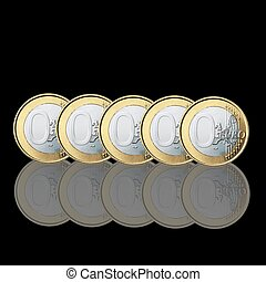 zero euro coins