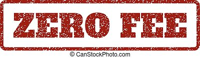 Zero Fee Rubber Stamp