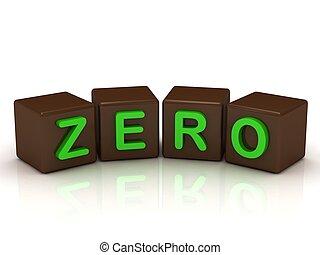 zero, jasny, beletrystyka, zielony, napis