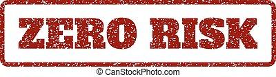 Zero Risk Rubber Stamp