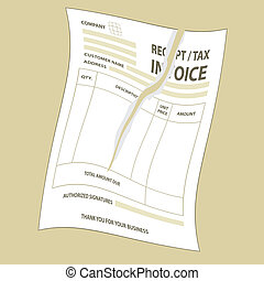 unfill schablone form steuer papier rechnung. Black Bedroom Furniture Sets. Home Design Ideas