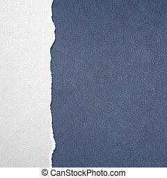 zerrissenen papier
