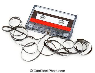 zerstörter , kassette