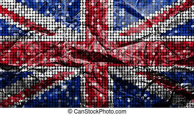 zespołowe królestwo, flag.