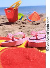 zet op het strand speelgoed