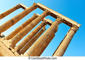 zeus, アテネ, コラム, 寺院