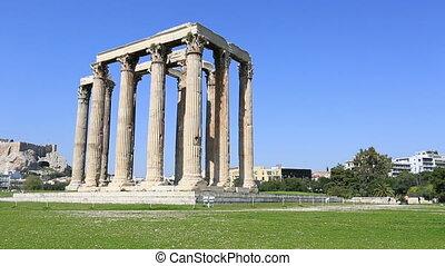 zeus, athènes, temple
