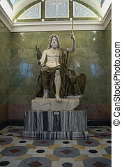zeus, statue