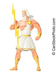 Zeus The Father of Gods and Men - Greek god and goddess...