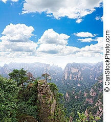 ZhangJiaJie a national park in China - The breathtaking...