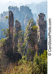 Zhangjiajie National forest park