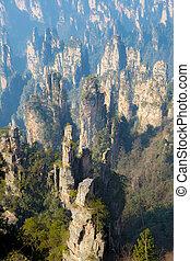 Zhangjiajie National forest park China