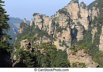 zhangjiajie national forest park,china