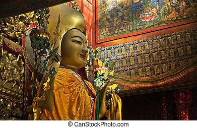 Zhong Ke Ba Details Yonghe Gong Buddhist Temple Beijing...