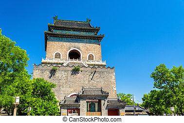 Zhonglou or Bell Tower in Beijing
