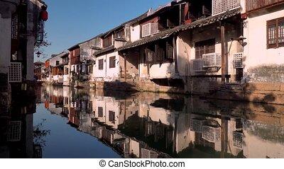 zhouzhuang, jiangsu, stad, water, china