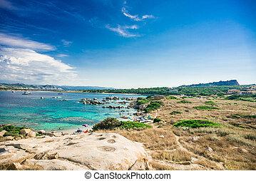 Zia Culumba Beach. Capo Testa, Sardinia Island. - Zia ...