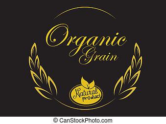 ziarno, organiczny