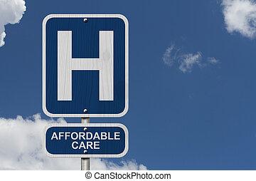 ziekenhuis, en, affordable, care