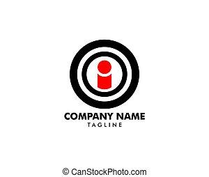 ziel, leute, logo, entwerfen element, ikone