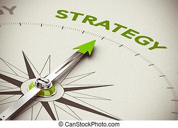 zieleń handlowa, strategia
