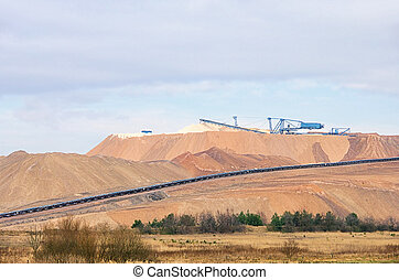 Zielitz potash salt dump 01