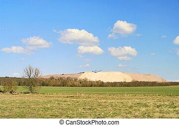 Zielitz potash salt dump 06