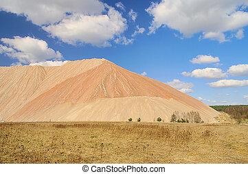 Zielitz potash salt dump 08