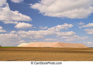 Zielitz potash salt dump 09