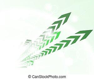 zielone tło, techniczny