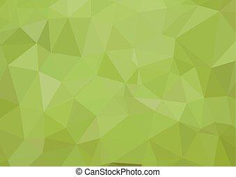 zielony abstrakt, wektor, eps10, tło