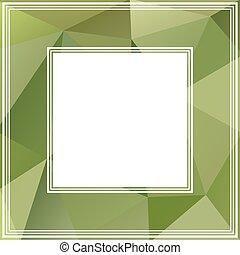 zielony, brzeg