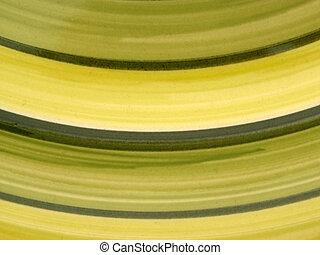 zielony, krzywe