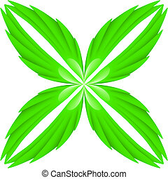zielony, skrzydełka