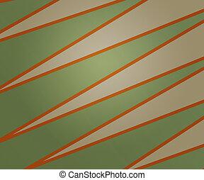 zielony, stary kształtowany, tło