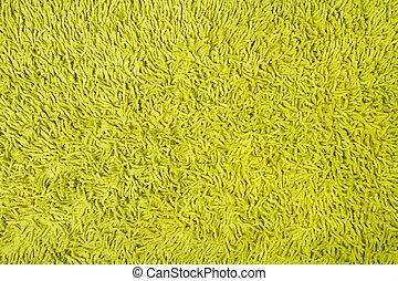 zielony, struktura, tło, dywan