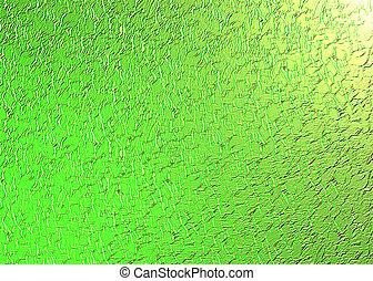 zielony, struktura
