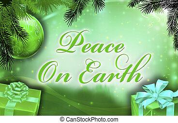 ziemia, życzenia, pokój