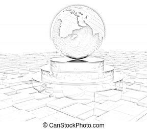 ziemia, podium