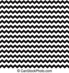 zig, 包むこと, zag, 山形そで章, パターン