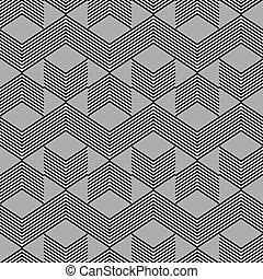 zig, geomã©´ricas, pattern., seamless, zag