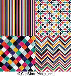 zig, stripes, romb, seamless, zag