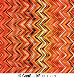 zig-zag, abstratos, listras, laranja, deformado, pretas, branca, eth, vermelho