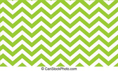 zig zag green background