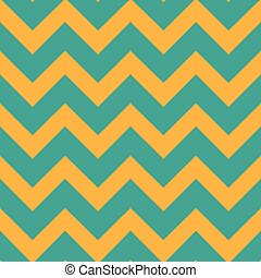 zig-zag, illustration., azul-verde, pattern., seamless, amarela, color., vetorial, chevron