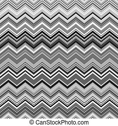 zig-zag, padrão, abstratos, cinzento, listras, deformado, preto étnico, branca
