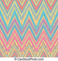 zigzag, aztèque